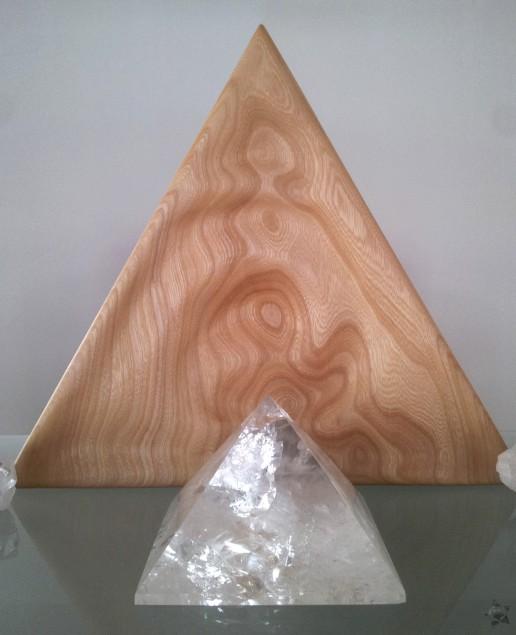 Holzkunstwerk -