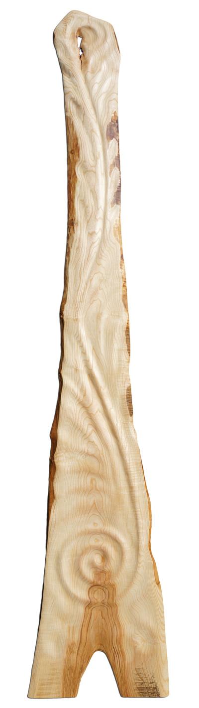 Holzkunstwerk - Am Wendepunkt der Gezeiten