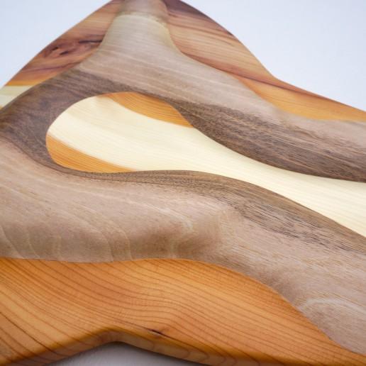 Intuitives Holzkunstwerk - Vilnir