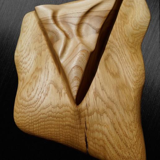 Intuitive Wood Art - Iridium