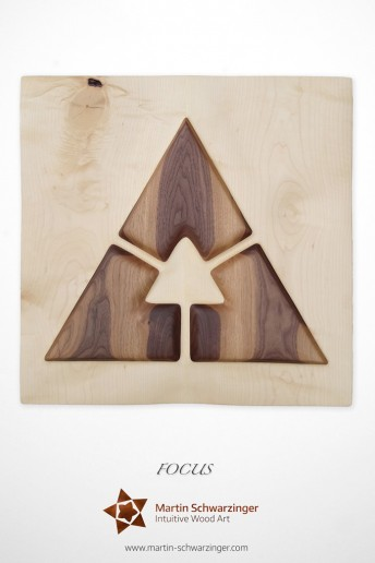 Intuitive Wood Art - Focus