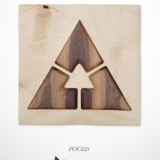 Intuitive Wood Art - Focus