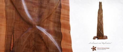 Martin Schwarzinger Intuitive Wood Art - Evolvement & Realisation