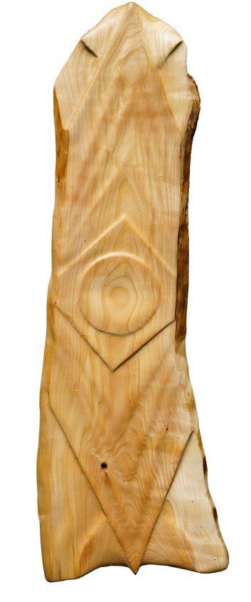 Holzkunstwerk - Ausrichtung
