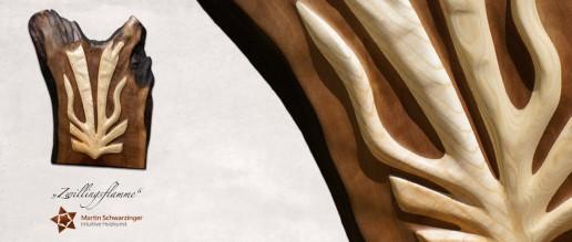 Intuitive Holzkunst - Zwillingsflamme