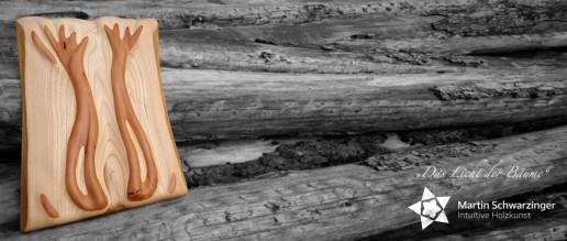 Intuitive Holzkunst - Das Licht der Bäume