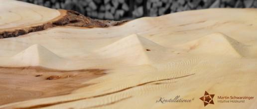 Intuitive Holzkunst - Konstellationen